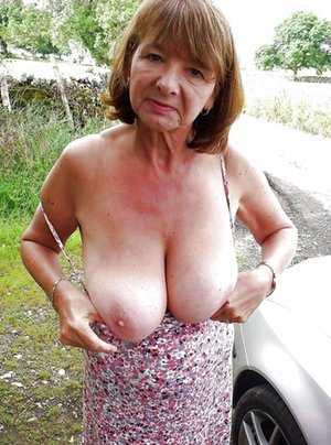 Granny Boobs Porn